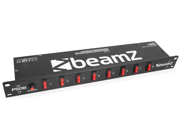 BEAMZ Switch Panel 8-Channel