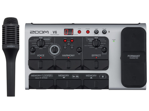 ZOOM V6 Vocal Effect + Samson Q4 CL in omaggio