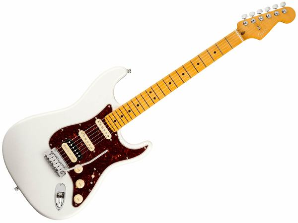 FENDER AM ULTRA Stratocaster HSS MN Arctic Pearl
