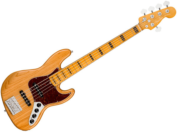 FENDER AM ULTRA Jazz Bass V MN Aged Natural