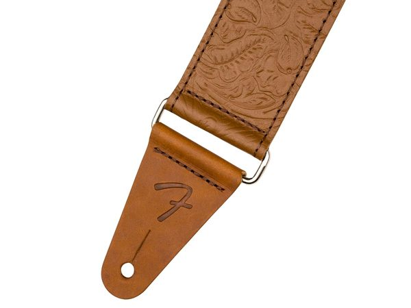 FENDER Tooled Leather Guitar Strap 2