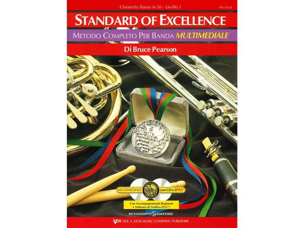 Standard Of Excellence Clarinetto Basso In Si B Liv.1+2cd