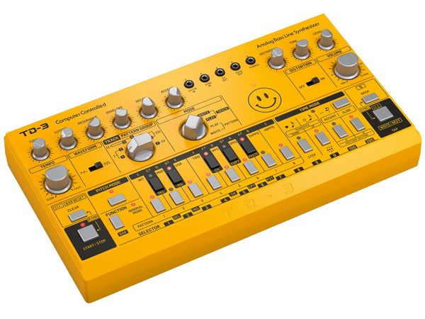 BEHRINGER TD-3 AM Yellow