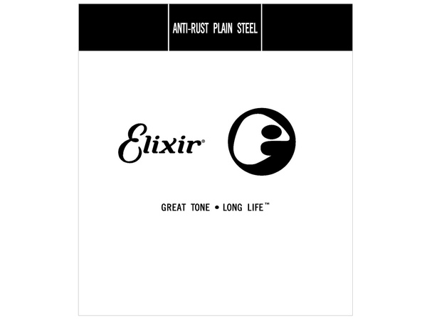 ELIXIR 13012 Anti-Rust 012 Plain Steel Single String