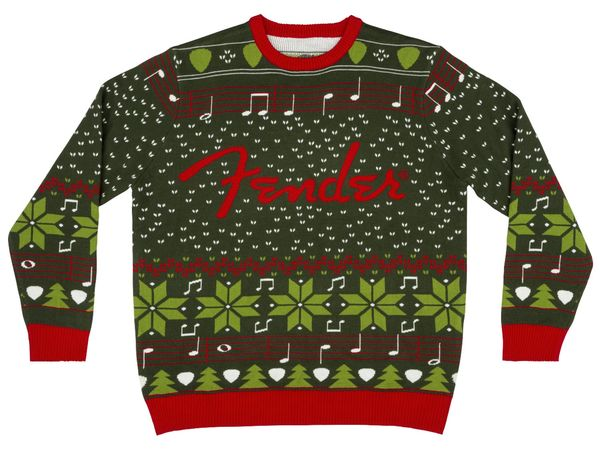 FENDER Ugly Christmas Sweater - S