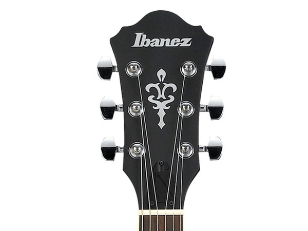 IBANEZ AS53 TKF Transparent Black Flat