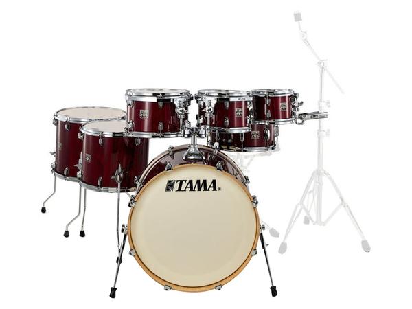 TAMA CL72RS-PGGP Superstar Classic Gloss Garnet Lacebark Pine