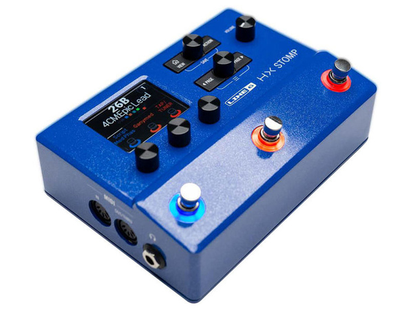 LINE6 HX Stomp Blue Special Edition