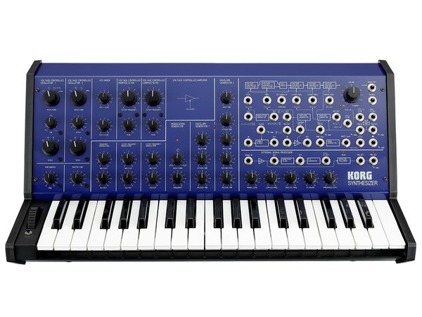 KORG MS-20 FS Metallic Blue Special Edition