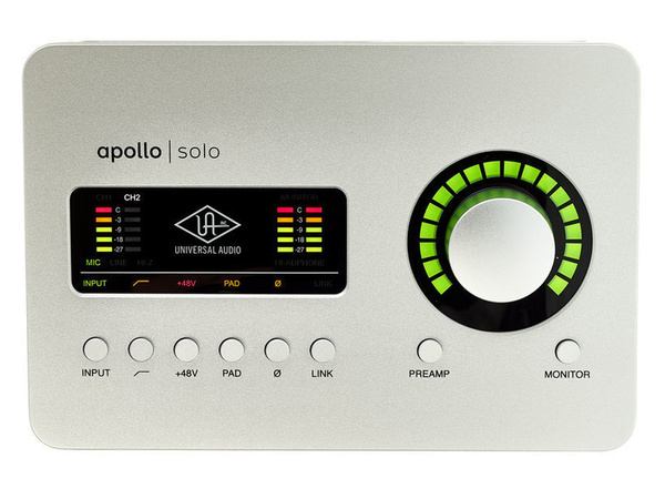 UNIVERSAL AUDIO Apollo Solo TB3 Heritage Edition