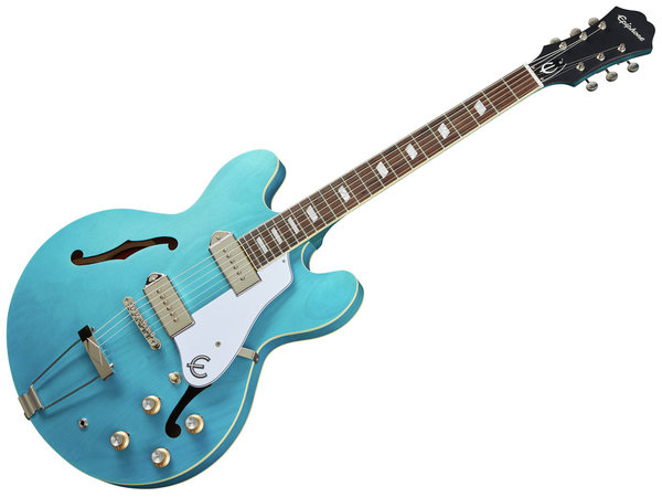 EPIPHONE Casino Worn - Worn Blue Denim