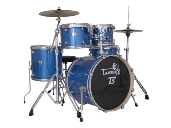 TAMBURO T5 S22 BLSK Blue Sparkle