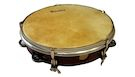 SAMBA Tamburello 20cm con Pelle Naturale Accordabile e 6 Sonagli