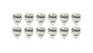 TAYLOR Celluloid 351 Guitar Picks White Pearl .46mm (Light) 12-Pack