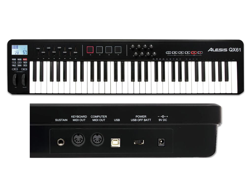 Alesis qx strumenti musicali