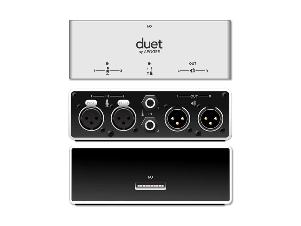 apogee duet breakout box strumenti musicali net. Black Bedroom Furniture Sets. Home Design Ideas