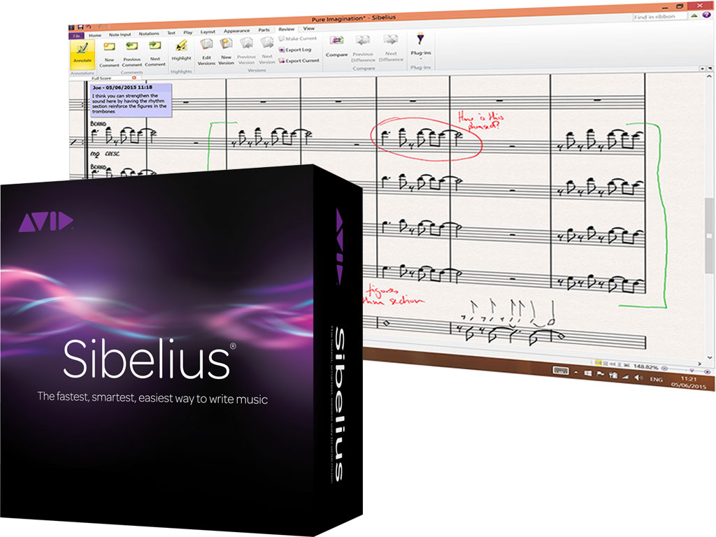 AVID Sibelius 8 + Support Plan