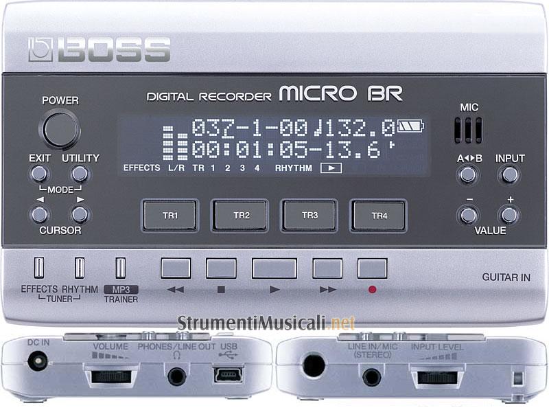 boss micro br manuale italiano