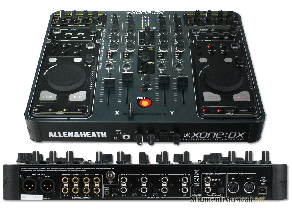DJ Allen & Heath XONE:DX