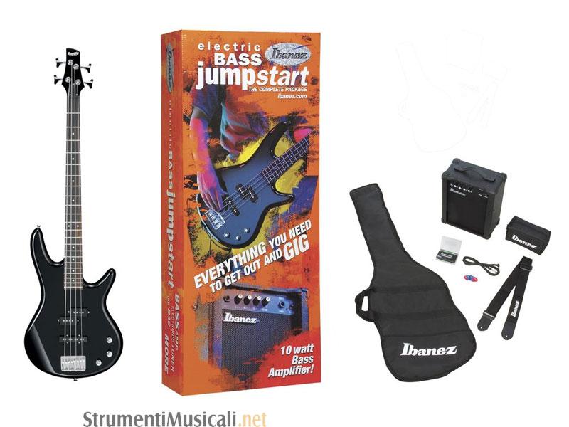 ibanez gsr190ju jumpstart kit black - | strumenti musicali