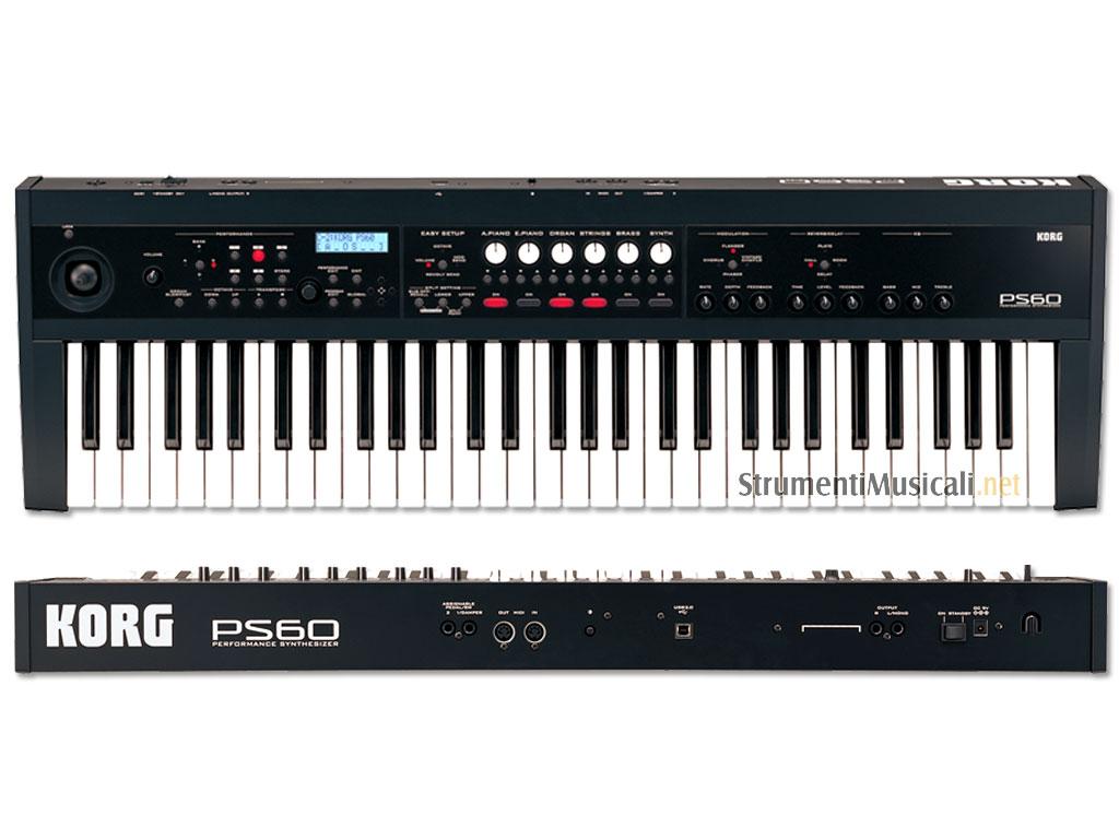 Korg Ps60 Performance Synthesizer Strumenti Musicali Net