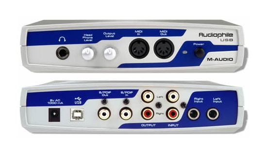 M Audio Audiophile Usb Driver Download