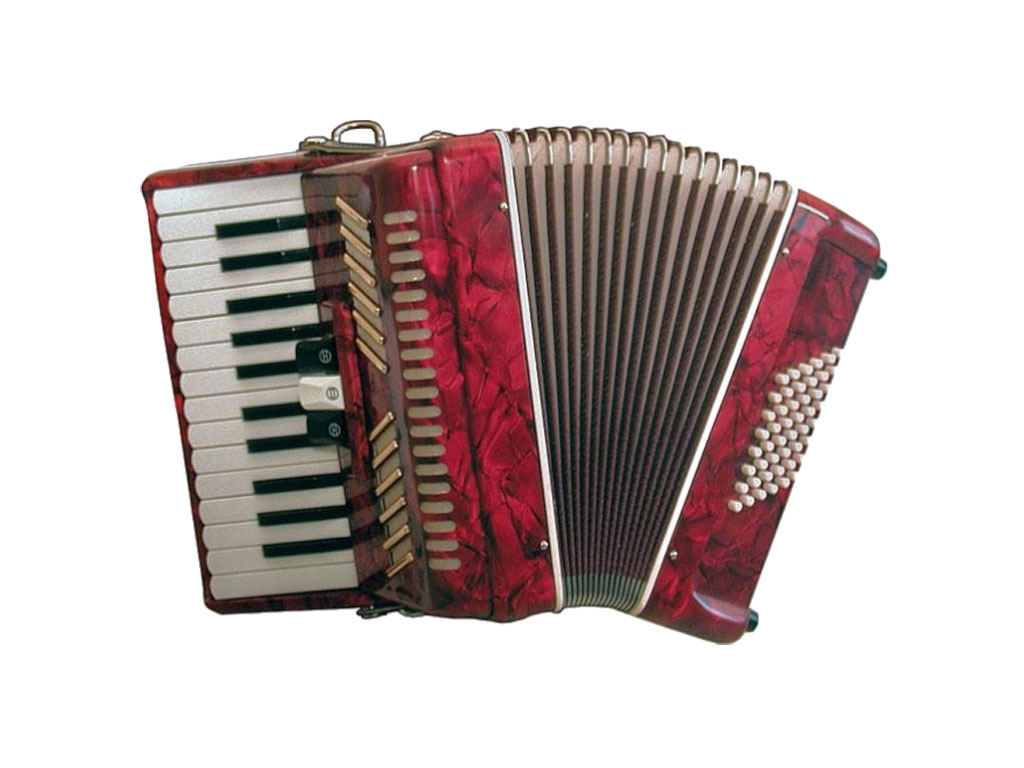 Soundsation 48 fisarmonica 48 bassi rossa strumenti musicali .net