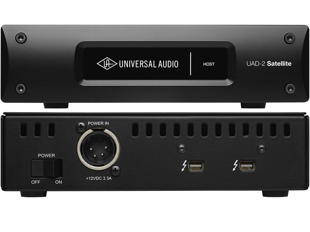 universal audio uad 2 satellite thunderbolt quad strumenti musicali net. Black Bedroom Furniture Sets. Home Design Ideas