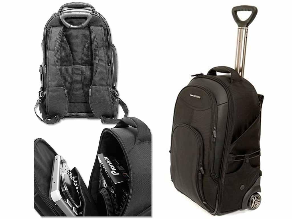 """UDG Creator Wheeled Laptop Backpack Black 21"""" (U8006BL ..."""