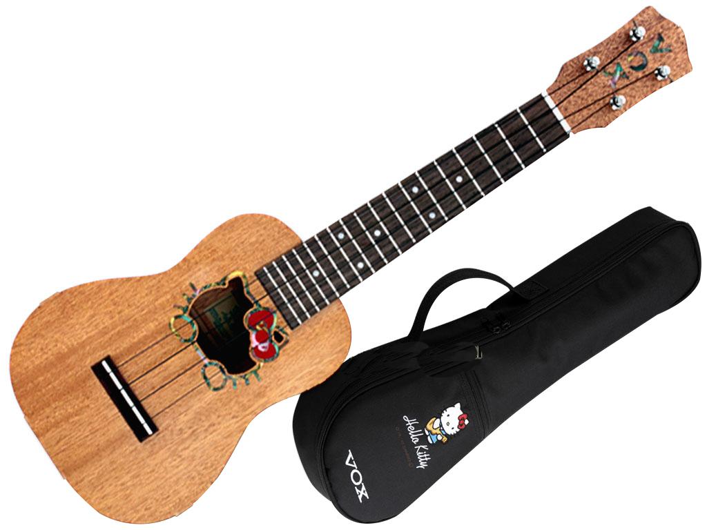 Vox vu hk ukulele hello kitty limited edition strumenti