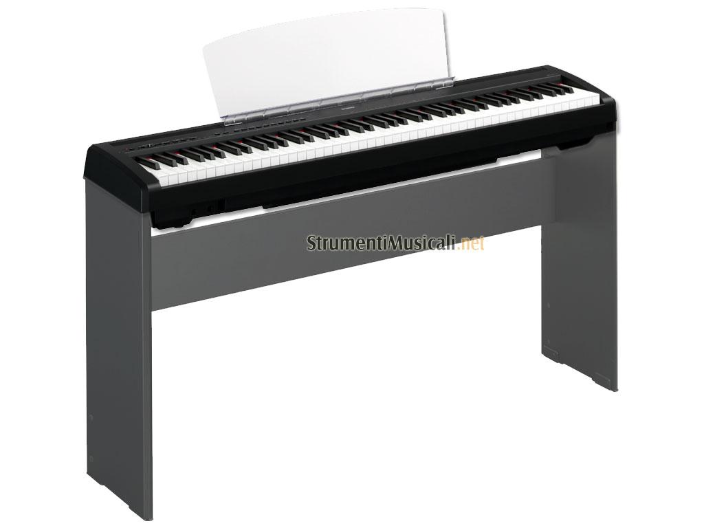 Yamaha p95 nero pianoforte da palco strumenti musicali .net