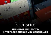 Plug-in gratis, editor, interfacce audio e midi controllar