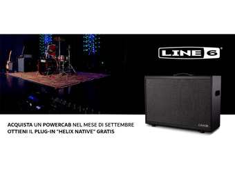 Line 6 PowerCab + Helix Native Plug-in in Omaggio