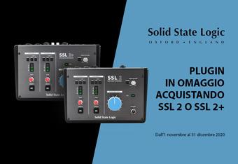 Promo Solid State Logic: Plug-in in omaggio