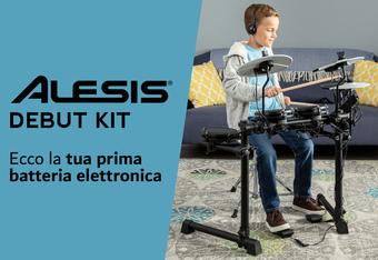 Alesis Debut Kit: la tua prima batteria elettronica!