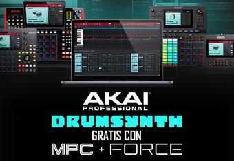 Drumsynth Gratis per MPC e Force della Akai Professional