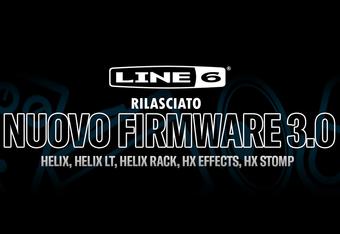 Rilasciato il firmware 3.0 per Line6 Helix