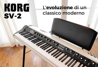 KORG SV-2: L'evoluzione di un classico moderno