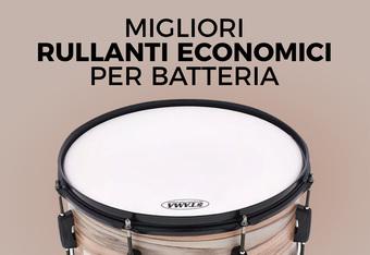 Migliori rullanti economici per batteria: recensione e opinioni