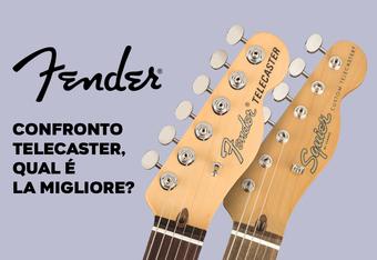 Confronto Fender Telecaster: qual è la versione migliore?