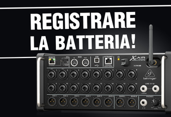 Registrare da zero: il mixer perfetto per i batteristi!