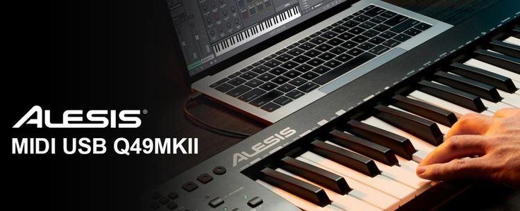 Alesis Q49 MKII: tastiera MIDI USB a 49 tasti